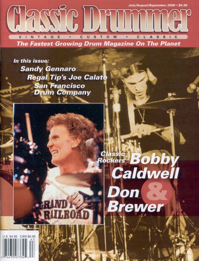 Press & Media - The Official Bobby Caldwell (Drummer) Site